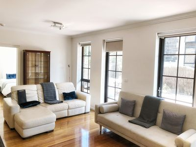 Photo for SOUTH YARRA COMFORT SLEEPS 8. FREE PARKING