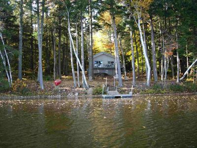 Private  Waterfront on Waldon Pond - 3 bed/2 bath/finished basement- sleeps 8-12