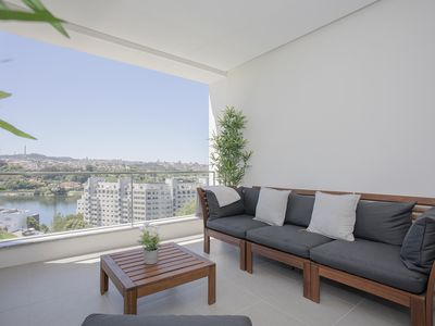 Photo for Liiiving in Porto | Luxury River View Apartment II