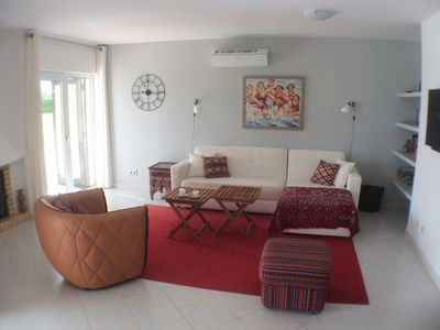 Photo for Clube Nautilus, beautiful apartment in the tropical garden on the beach u. sea