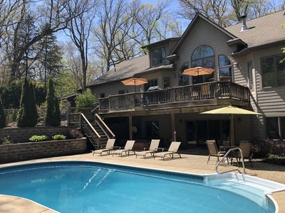 Photo for 1 block to Private Beach!  Quiet Resort Like Setting!  Private Pool & Hot Tub!