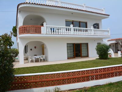 Photo for Holiday home in a wonderful location, directly on the private beach