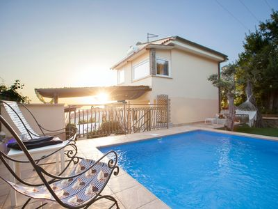 Photo for 2 bedroom Villa, sleeps 7 with Pool, Air Con, FREE WiFi and Walk to Shops