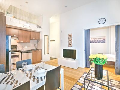 Photo for Liv MTL | Main 204 | Up to 60% OFF | Smart 1BR + Mezzanine + Family