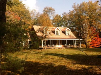 Photo for Charming and Spacious Vermont Farmhouse-  SUMMER AND FALL RATES