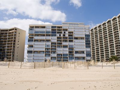 Photo for Cute & Affordable Oceanfront w/ Pool (114th St.) - Great Views & Sunrises!