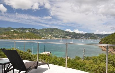 Photo for Contemporary Waterfront Guest Villa: Views, AC, Balcony, Generator