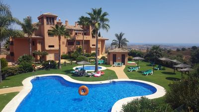Photo for Luxury Apartment with GOLF, FITNESS, Free SPA near Marbella