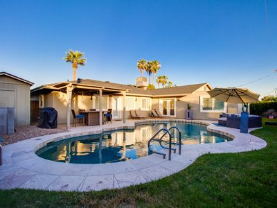 Photo for Immaculate Home Near Old Town Scottsdale and ASU!  5 Bdrms and Heated Pool!