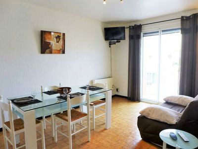 Photo for Narbonne-Plage Apartment, Sleeps 6 with WiFi