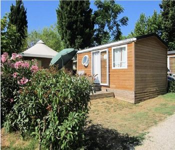 Photo for Camping Lou Pantaï *** - Lodge 2 Rooms 2/4 People Classic