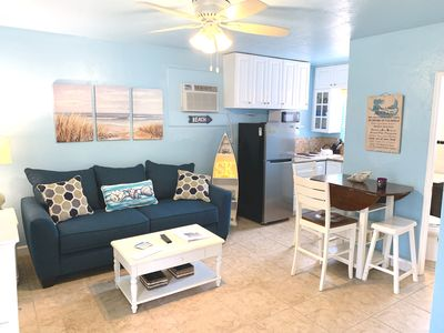 Photo for Newly Updated -100 Yard Walk to the Beach, Spring Discount! Rare 1 Bed / 2 Bath