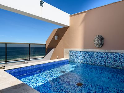 Photo for CaviRio - Duplex Penthouse in Ipanema: Pool and Sea Views (CA)