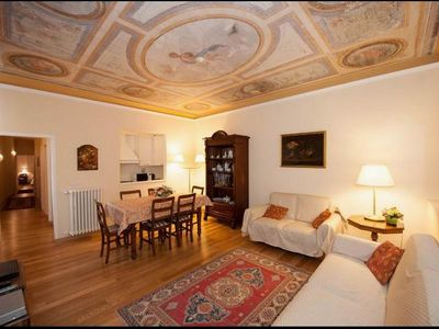 Photo for Beautiful apartment with frescoes near the cathedral.