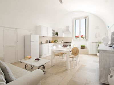 Photo for Furnished house on the sea, in the historic center of Monopoli