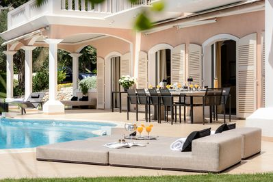 our chef will spoil you, please relax and enjoy paradise at Villa Monaco