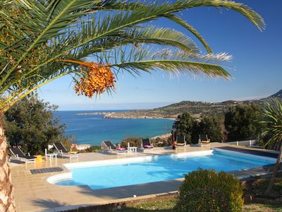 Photo for LUXURY VILLA PANORAMIC SEA VIEW HEATED PRIVATE POOL 4 TO 9 PEOPLE