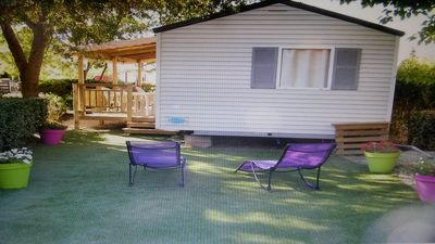 Photo for Mobil home 2 rooms air-conditioned