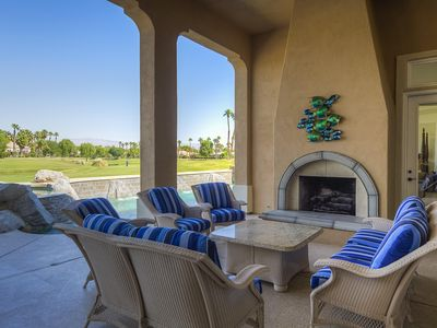 Photo for Large home on PGA West golf course and near Coachella Music Festival