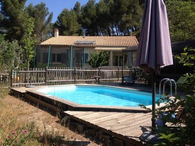 Photo for House with swiming pool, garden and kitchen garden close Aix -en-Provence