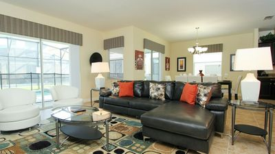 Photo for Luxury on a budget - Paradise Palms Resort - Beautiful Spacious 6 Beds 5 Baths Townhome - 4 Miles To Disney