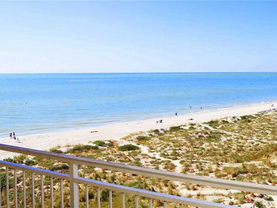Photo for Incredible Sweeping Beach Views from Top Floor 2 Bedroom Free Wifi