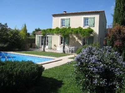 Photo for Provencal house, quiet, near Aix en Provence with swimming pool
