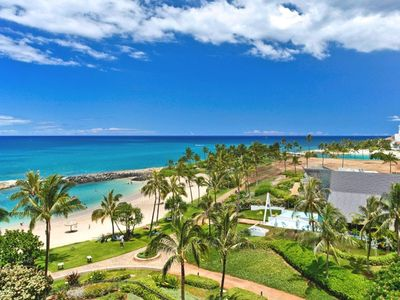 Photo for Ko Olina Resort, The Sunset Villa - Beach Tower 6th floor Beach Villa- sleeps 5