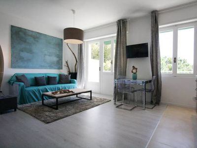 Photo for Lovely apartment for rent overlooking the beautiful beaches of Arma di Taggia