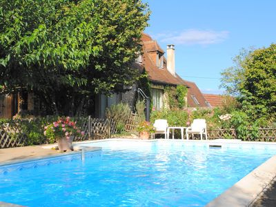 Photo for Muguette is a nice holiday home with fenced private swimming pool and fenced garden.
