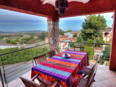 Photo for BEAUTIFUL HOUSE WITH TERRACE AND SEA VIEWS