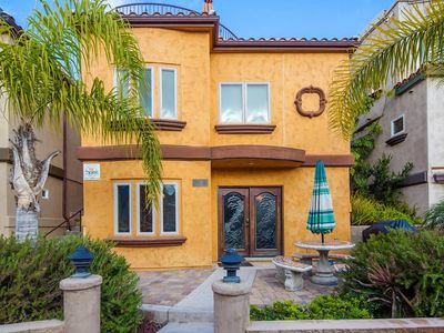 Photo for Mission Beach Luxury Townhome w/AC, ground floor