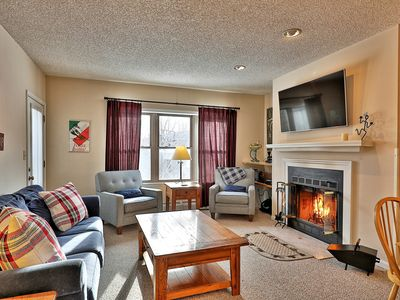 Photo for 3 bedroom ski on/off Okemo condo in Winterplace. Sleeps 8