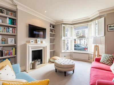 Photo for Homely 4-bed house w/ back garden in Battersea