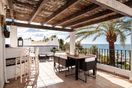 Picturesque Roof Terrace With Sea Views