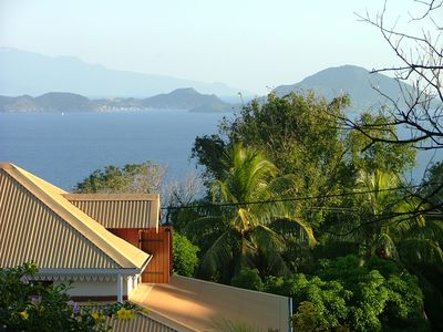 Photo for 1 / 2Exceptional view of the Saintes archipelago