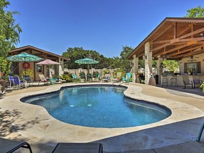 Photo for Peaceful Kerrville House w/Private Pool & Hot Tub!