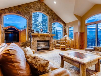 Photo for Moosehead Lodge: Private Home with Grand Views, Hot Tub & Foosball