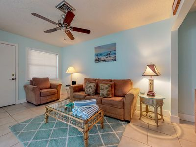 Photo for NEW LISTING! Breezy condo w/shared pool -minutes from beach & dining