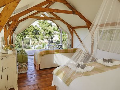Photo for Romantic and Secluded Waterfront Glamping, Nr Kerikeri, Bay of Islands
