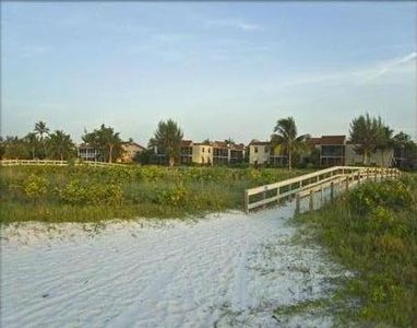 Sanibel Moorings is located directly on the beach, just 200 steps from our condo