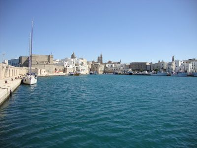 Photo for Apartment In The Old Fishing Port Of Monopoli, With Panoramic Roof Terrace Views