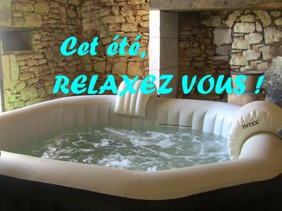 Photo for Air-conditioned **** cottage-190m2 with SPA -Wifi-Equi baby-Sheets provided-QUERCY PERIGORD