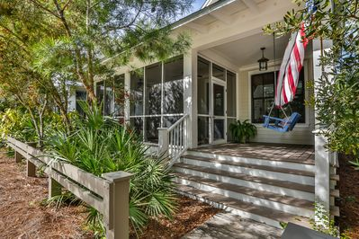Unparalleled Proximity Cottage Charm W Screened Front Porch