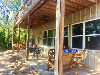 Trinity trails ranch lakeview cabin in 6 a homeaway for Lake whitney cabins with hot tubs