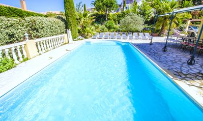 Photo for Large villa with pool in Sainte Maxime - Saint Tropez