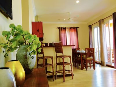 Photo for Les Residences Yen Dy II #211,   Living Room/2Bedroom/2Bathroom/Pool (95sqm)