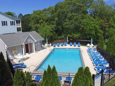 Photo for 2020: 4 BR/3.5BA, POOL, WIFI, PARKING, FISHING - Walk/bike to town and beach!