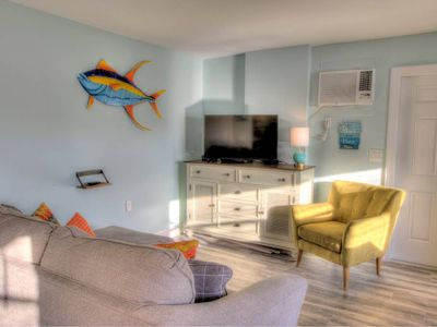Photo for 4 Beach Access, Close to Time's Square, On water
