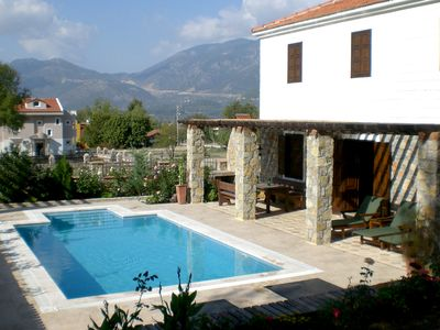Photo for Traditional Private Villa with Own Pool and Fantastic Mountain Views